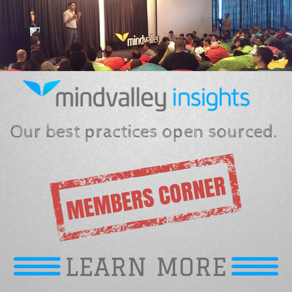 Membership to Mindvalley Insights